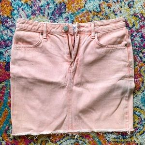 BDG - Pink Denim Mini